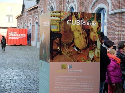 Exposition du Cubiculum musicae Lassus à Mons